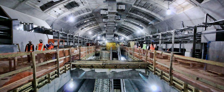 ساخت ایستگاه مترو